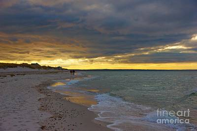 Photograph - Mayflower Beach Walk by Amazing Jules