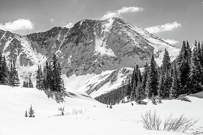 Photograph - Mayflower Gulch Monochrome 1 by Eric Glaser