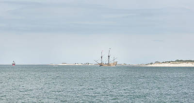 Photograph - Mayflower Returns by Joanne Brown