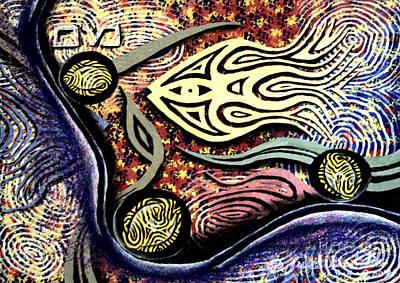Mayim Art Print by Luke Galutia
