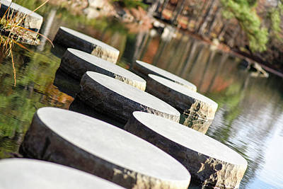 Photograph - Maymont Stepping Stones by Doug Ash