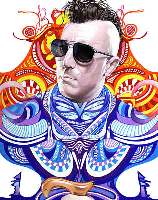 Drawing - Maynard James Keenan by Joshua Morton