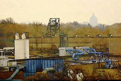 Digital Art - Maynard Steel by David Blank