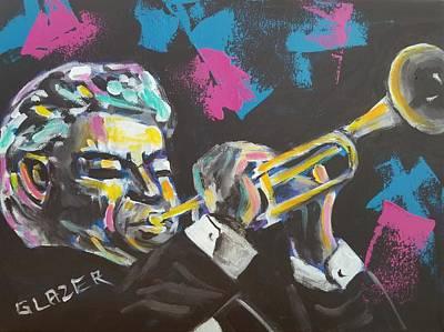 Wall Art - Painting - Maynard by Stuart Glazer