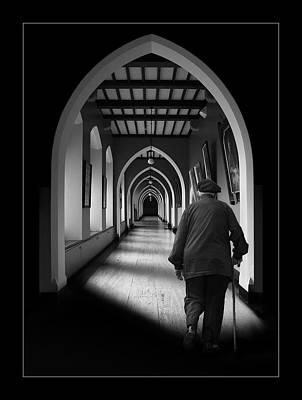 Photograph - Maynooth Hall, Ireland by Marty Garland