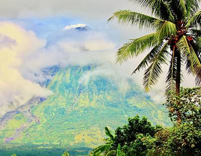 Photograph - Mayon Volcano by Lorna Maza