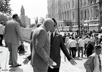 Photograph - Mayor Erastus Corning by Mark Alesse
