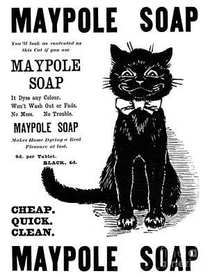 Photograph - Maypole Soap 1898 by Granger
