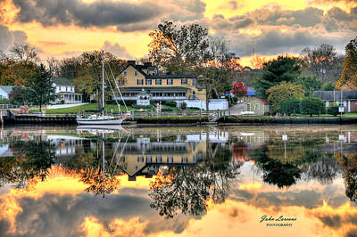 Photograph - Mays Landing Morning by John Loreaux