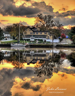 Photograph - Mays Landing Sunrise by John Loreaux