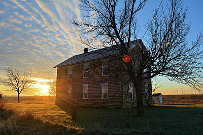 Photograph - Maysville School Rise by Bonfire Photography