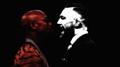 Mixed Media - Mayweather And Mcgregor 1d by Brian Reaves