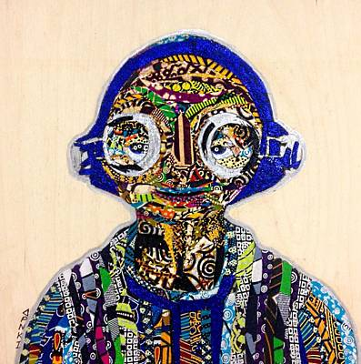 Tapestry - Textile - Maz Kanata Star Wars Awakens Afrofuturist Colection by Apanaki Temitayo M