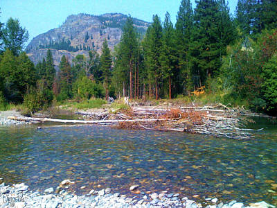 Photograph - Mazama And Methow River Landscape Photography By Omashte by Omaste Witkowski