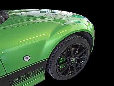 Photograph - Mazda Mx-5 Sport Black Detail by Gill Billington