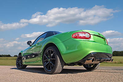 Photograph - Mazda Mx-5 Low Down Rear by Gill Billington