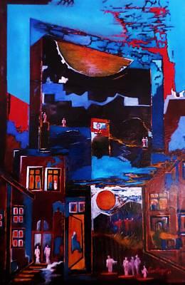 Painting - Maze by Adalardo Nunciato  Santiago