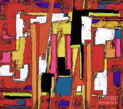 Chaos Maze Digital Art - Maze by Keith Mills