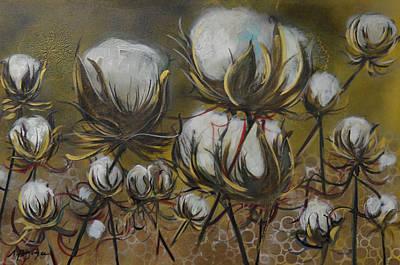 Painting - Maze Of Cotton by Nancy Hilliard Joyce
