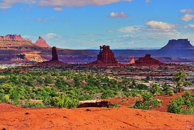 Photograph - Maze Standing Rocks by Greg Norrell
