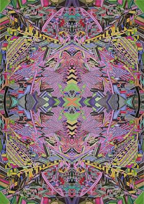 Maze-cf Art Print