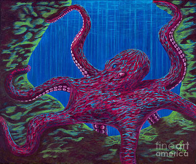 Painting - Mb Octopus by Rebecca Parker