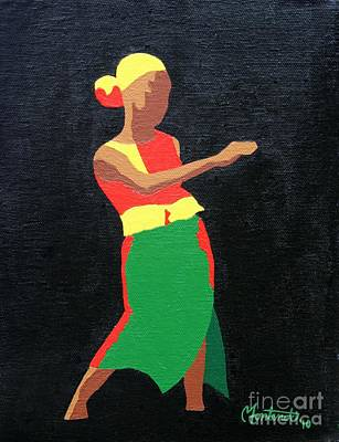 Mbili Art Print by Christine Fontenot