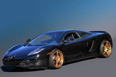 Photograph - Mc Laren by Bill Dutting