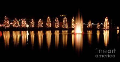 Photograph - Mcadenville Christmas Lights by Jill Lang