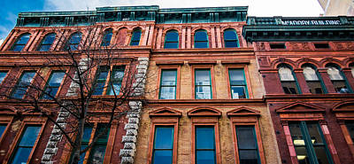 Photograph - Mcadory Building by Shelby Young