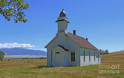 Photograph - Mcallister Church by Marty Fancy