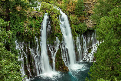 Photograph - Mcarthur-burney Falls by Bill Gallagher