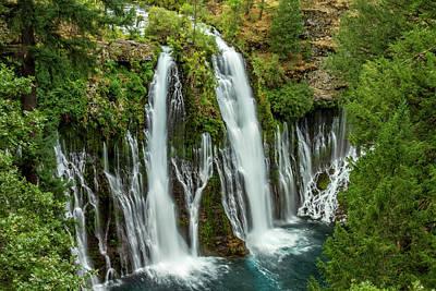 Photograph - Mcarthur-burney Falls by Bill Gallagher