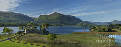 Fantasy Royalty-Free and Rights-Managed Images - McCarthy Mor Castle on Lough Leane by Brian Jannsen