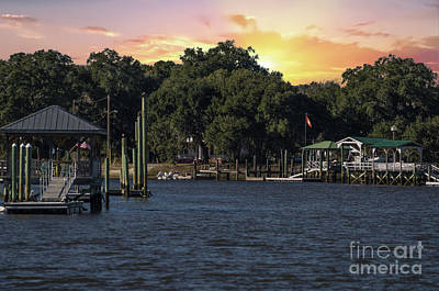 Photograph - Mccellanville Sunset by Dale Powell
