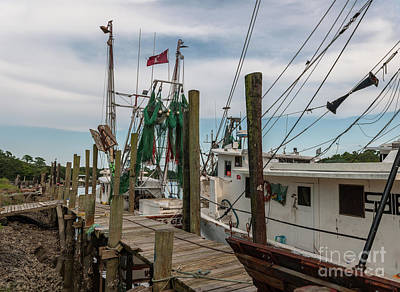 Photograph - Mcclellanville Dockside  by Dale Powell