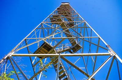 Gerald Monaco Photograph - Mcclellanville Lookout Tower by Gerald Monaco