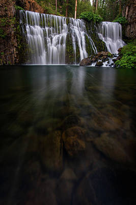 Photograph - Mccloud Falls by Dustin LeFevre