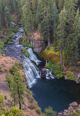 Mccloud River And Middle Falls Art Print