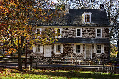 Photograph - Mcconkey Ferry Inn IIi by Debra Fedchin