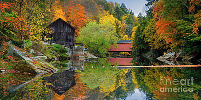 Photograph - Mcconnells Mill State Park by Emmanuel Panagiotakis