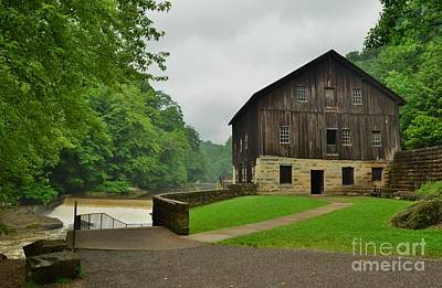 Photograph - Mcconnels Mill - 2 by Bob Sample