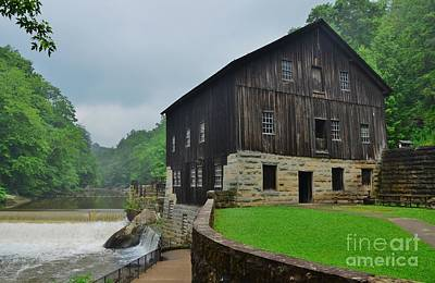 Photograph - Mcconnels Mill by Bob Sample