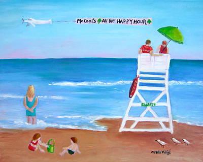 Mccool's All Day Happy Hour Art Print by Marita McVeigh
