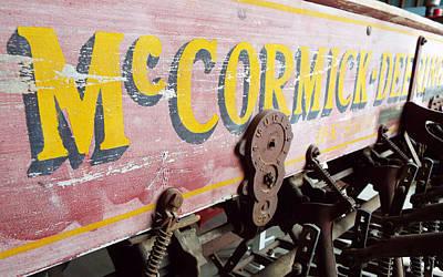 Photograph - Mccormick Deering by Caryl J Bohn