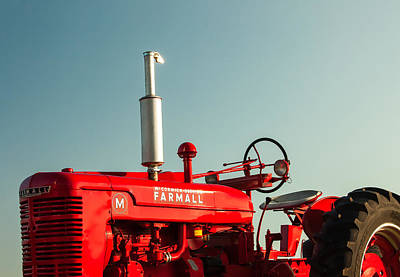 Red Photograph - Mccormick-deering Farmall M by Todd Klassy