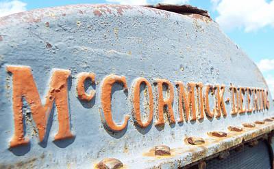 Photograph - Mccormick Deering Grey by Caryl J Bohn