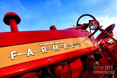 Photograph - Mccormick Farmall 450 by Olivier Le Queinec