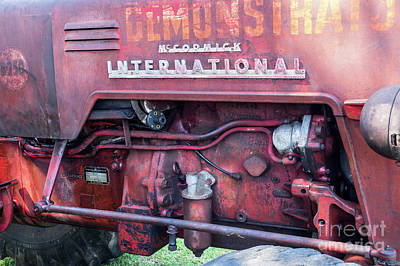 Photograph - Mccormick International Tractor 01 by Rick Piper Photography