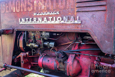 Photograph - Mccormick International Tractor 02 by Rick Piper Photography